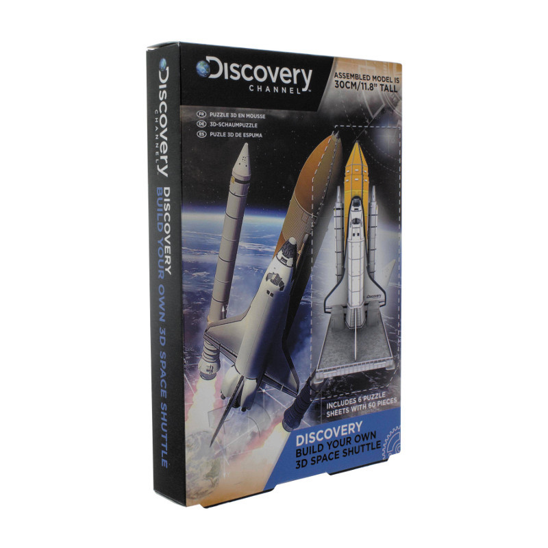 "Space-Shuttle-Bausatz ""Discovery Channel"""