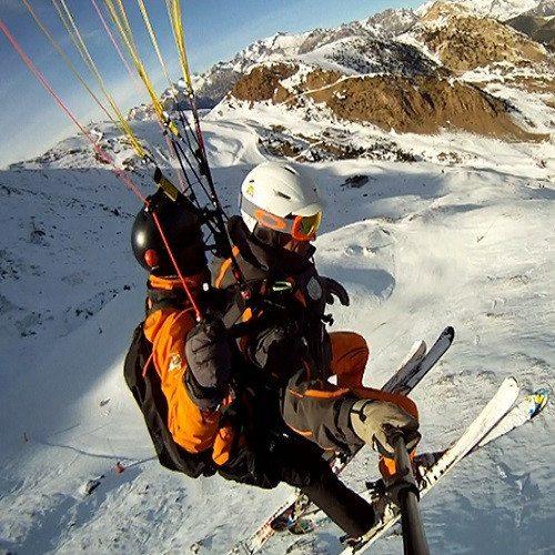 Speedtandem en Cerler - Huesca