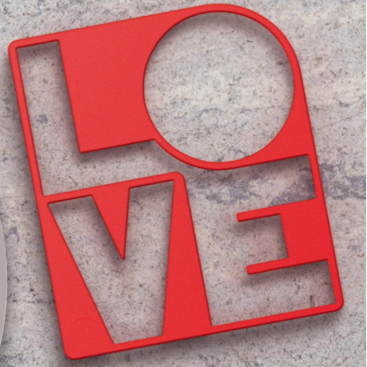 """Spiegeleiform """"Love"""""""