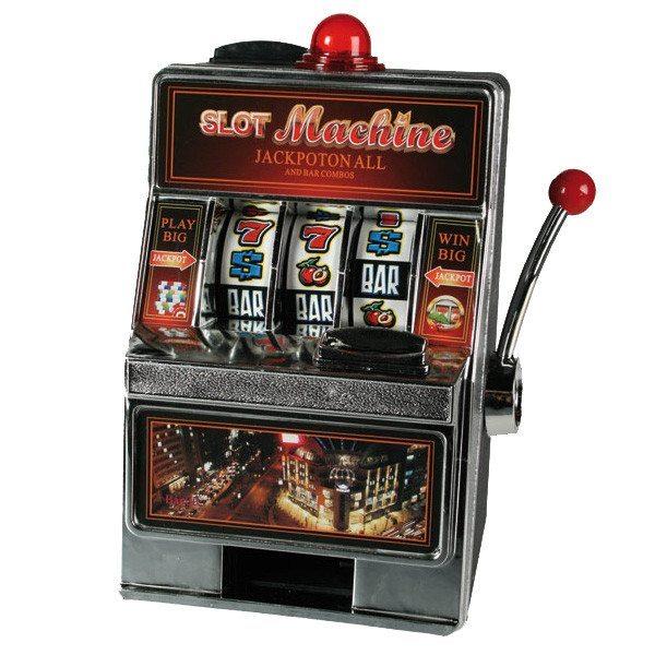 Spielautomat - Die Spardose für Zocker