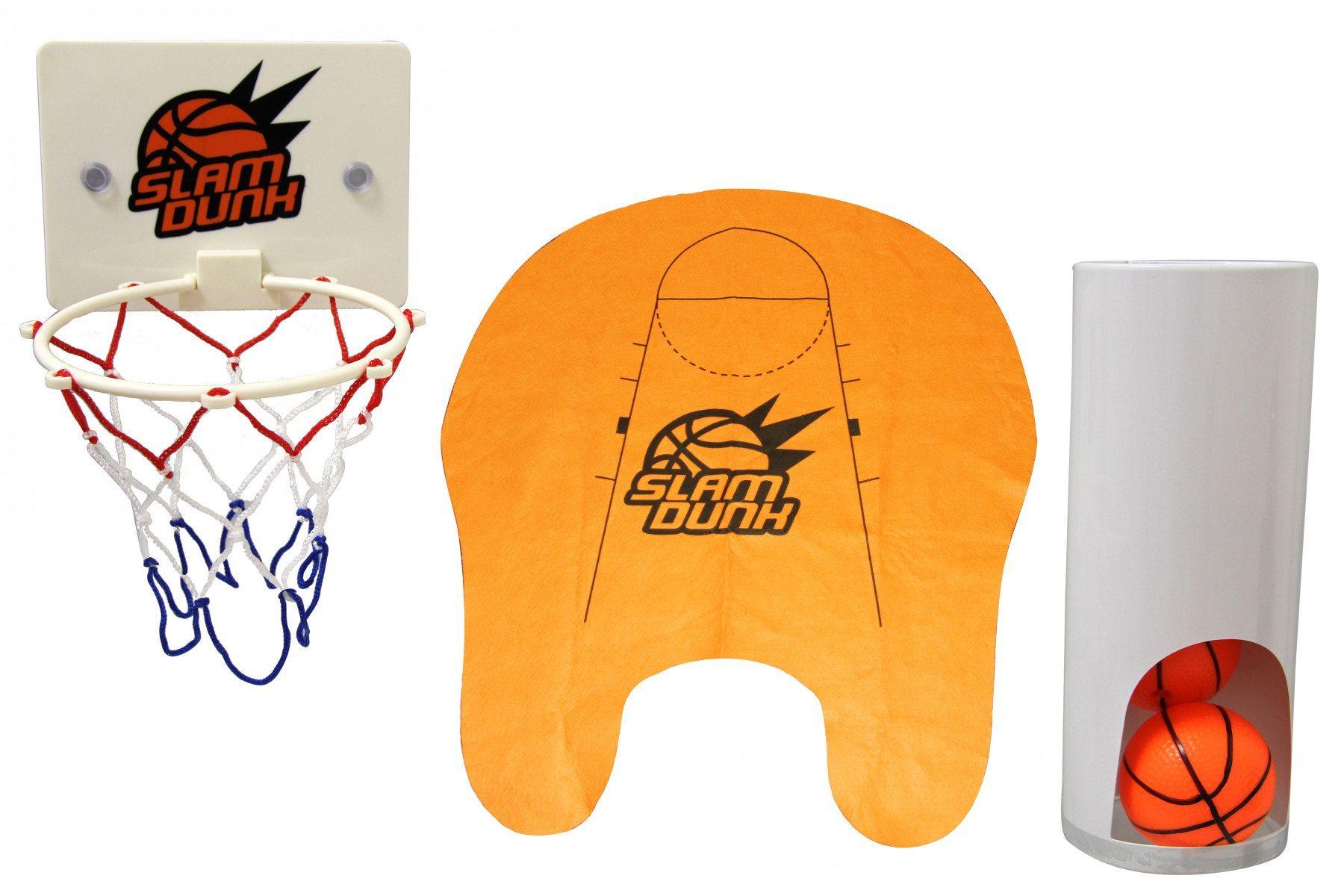 Sportliches Örtchen – Toiletten Basketball – Einzelteile