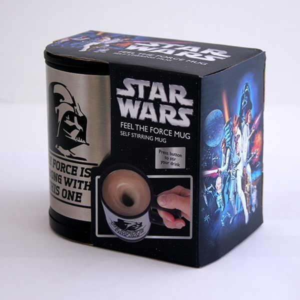 Star Wars - Selbstumrührender Becher