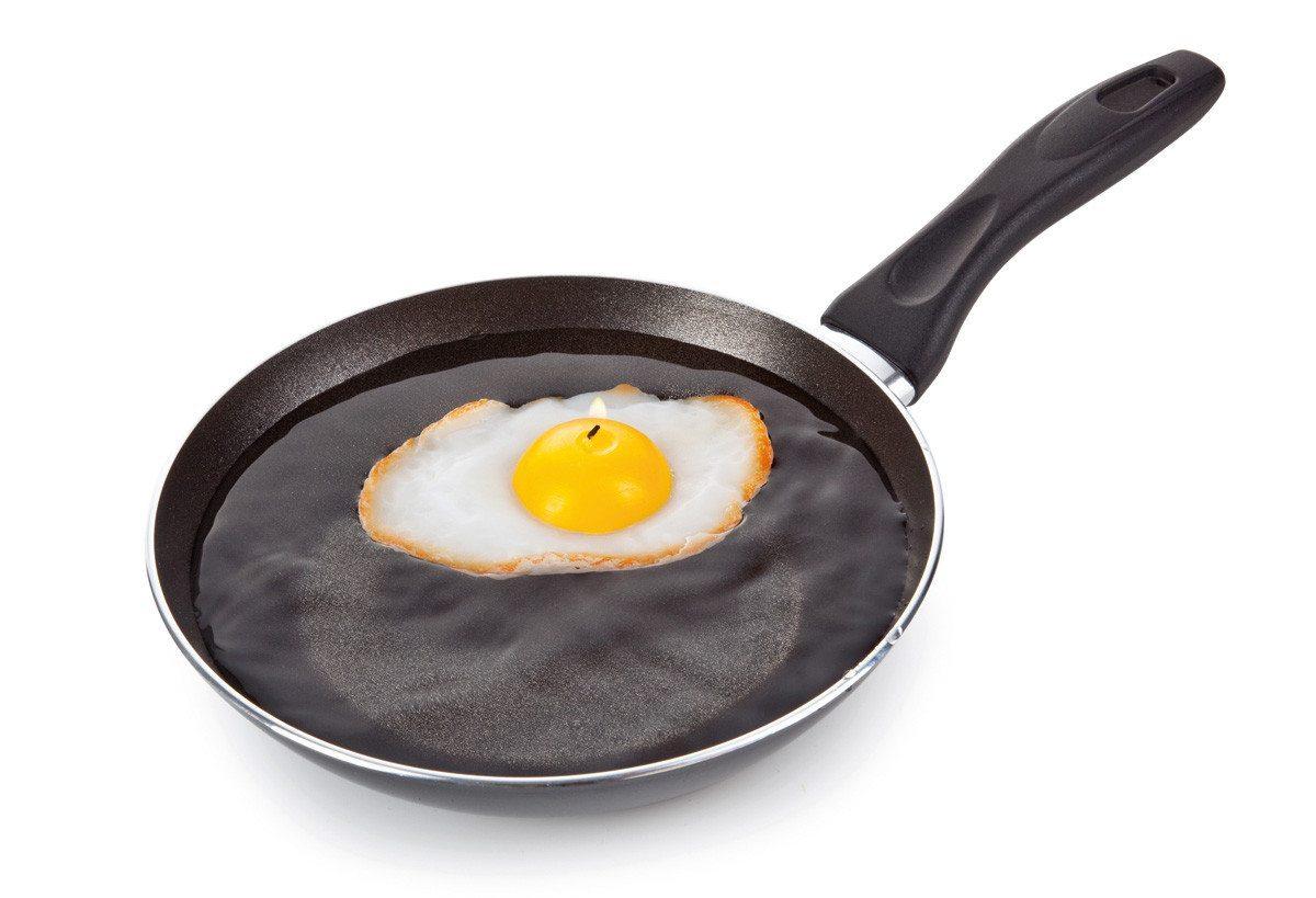Sunny Side Up - Frühstücks-Schwimmkerze