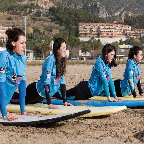 Surf en pareja - Barcelona