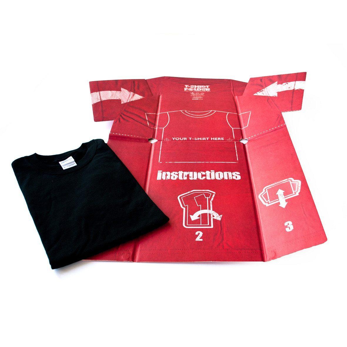 T-Shirt Falthilfe