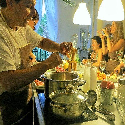 Taller y degustación de Cocina Mediterránea - Barcelona