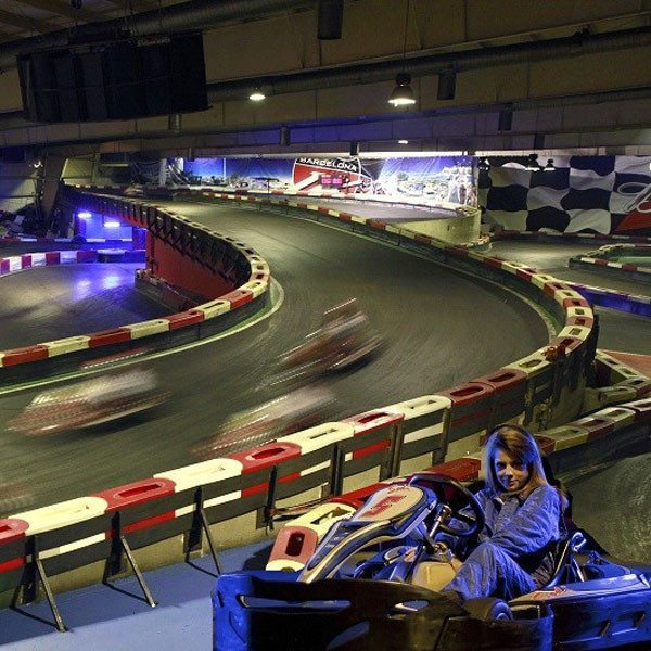 Tanda de karting - Barcelona