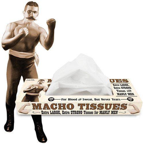 Taschentücher für Machos