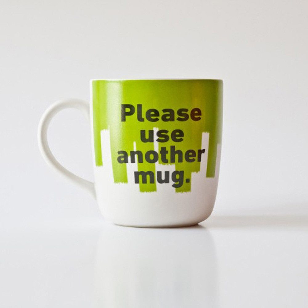 Tasse Mr. P Please use another Mug