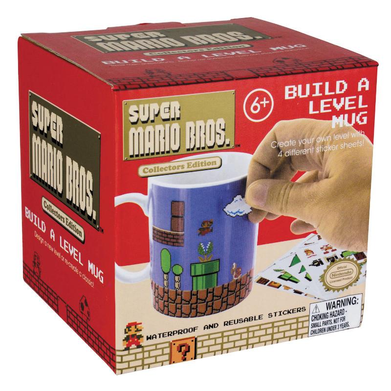 Tasse Super Mario Bros. – Bau dir dein eigenes Level!