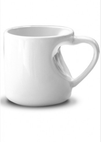Taza blanca personalizable