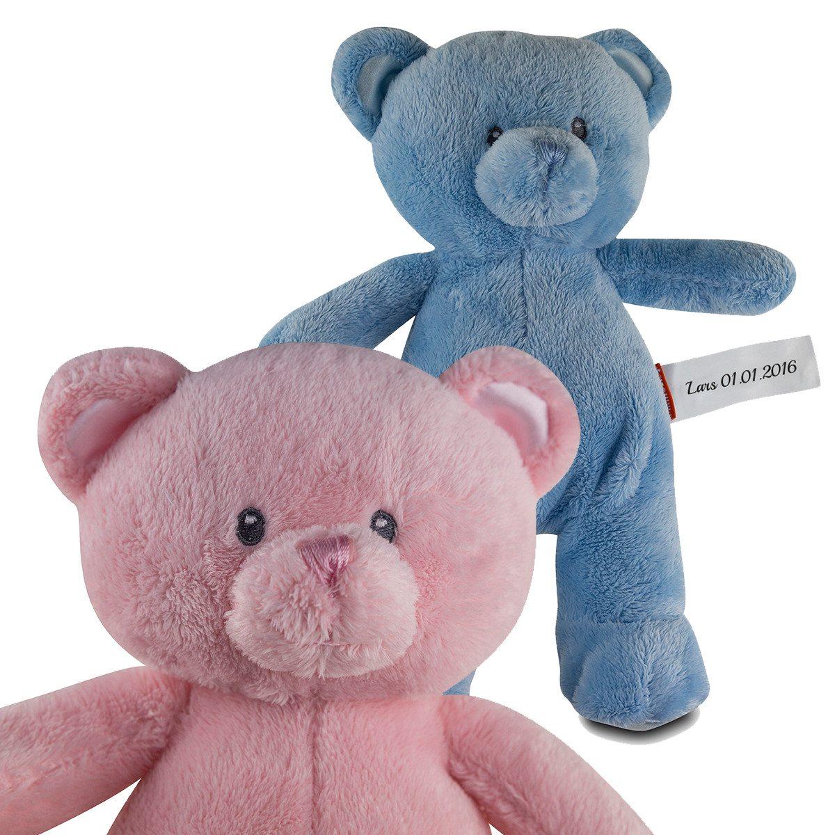 Teddy zur Geburt mit Namen