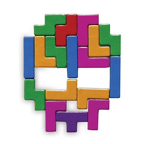 Tetris™-Magnete