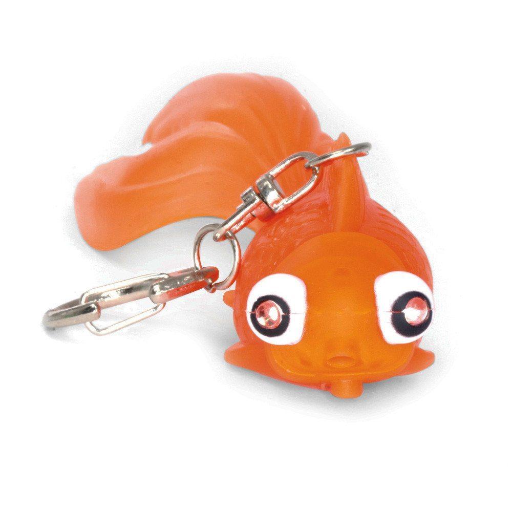 Tierische LED Schlüsselanhänger Goldfisch