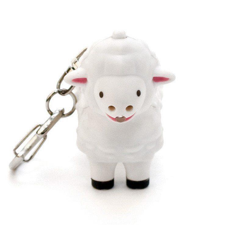 Tierische LED Schlüsselanhänger Schaf