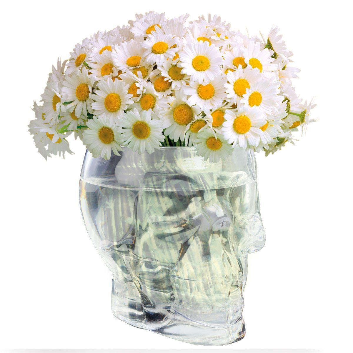 Totenkopf Vase