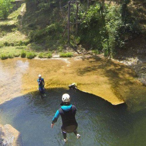 Trekking acuático por la riera del Canet - Girona