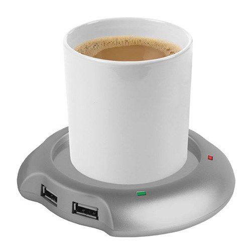 USB-Tassenwärmer mit Tasse