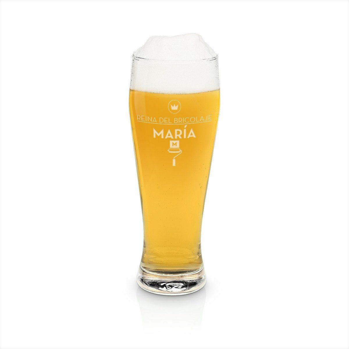 Vaso de cerveza con grabado – la cerveza perfeccionada