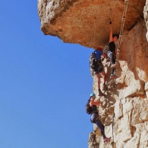 Vía Ferrata Rojals de nivel avanzado para 2 - Tarragona