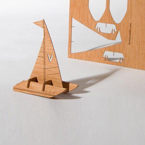 Vielseitige Grußkarten aus Holz