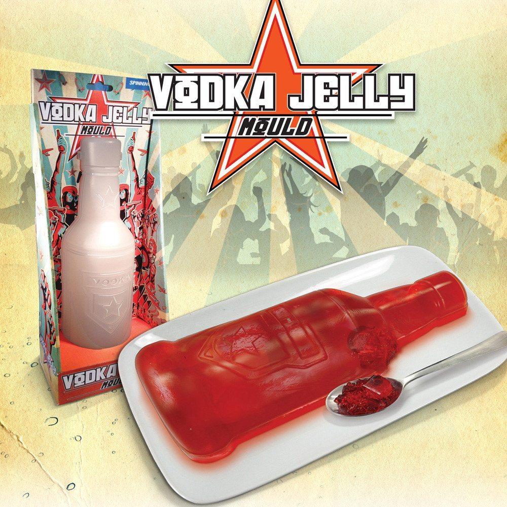Vodkaflaschenform für Götterspeise
