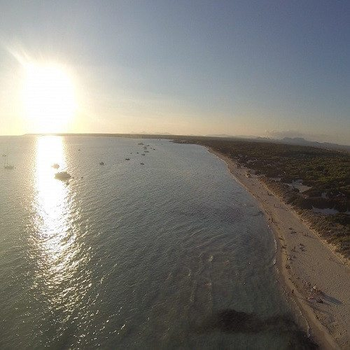 Vuelo de paramotor por sierra y costa - Mallorca