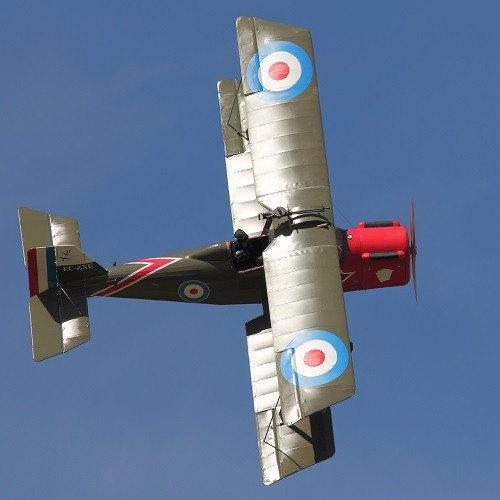 Vuelo en avión en réplica biplano 1ª Guerra Mundial - Lleida