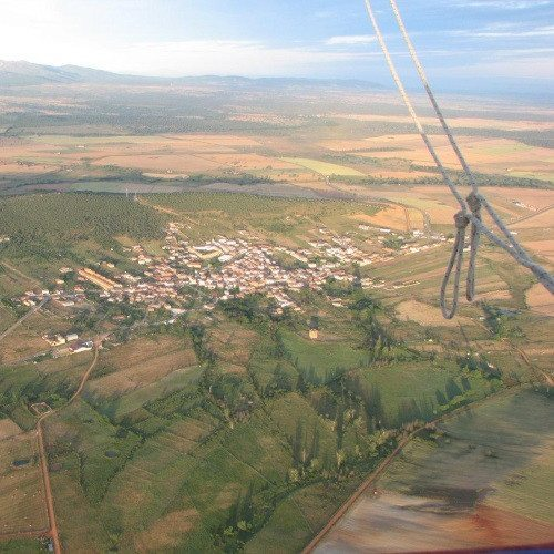 Vuelo en globo sobre Salamanca
