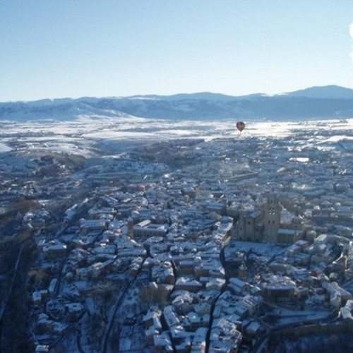 Vuelo en globo sobre Segovia