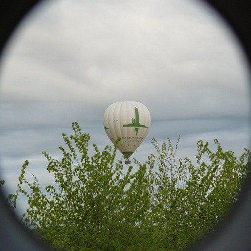 Vuelo en globo sobre Soria