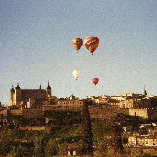 Vuelo en globo sobre Toledo