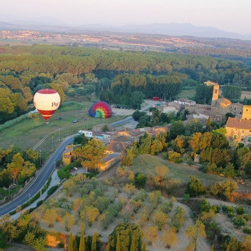 Vuelo exclusivo para parejas - Girona