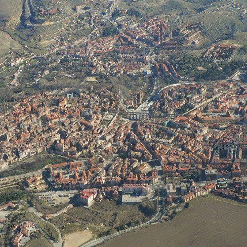 Vuelo sobre Segovia - Segovia