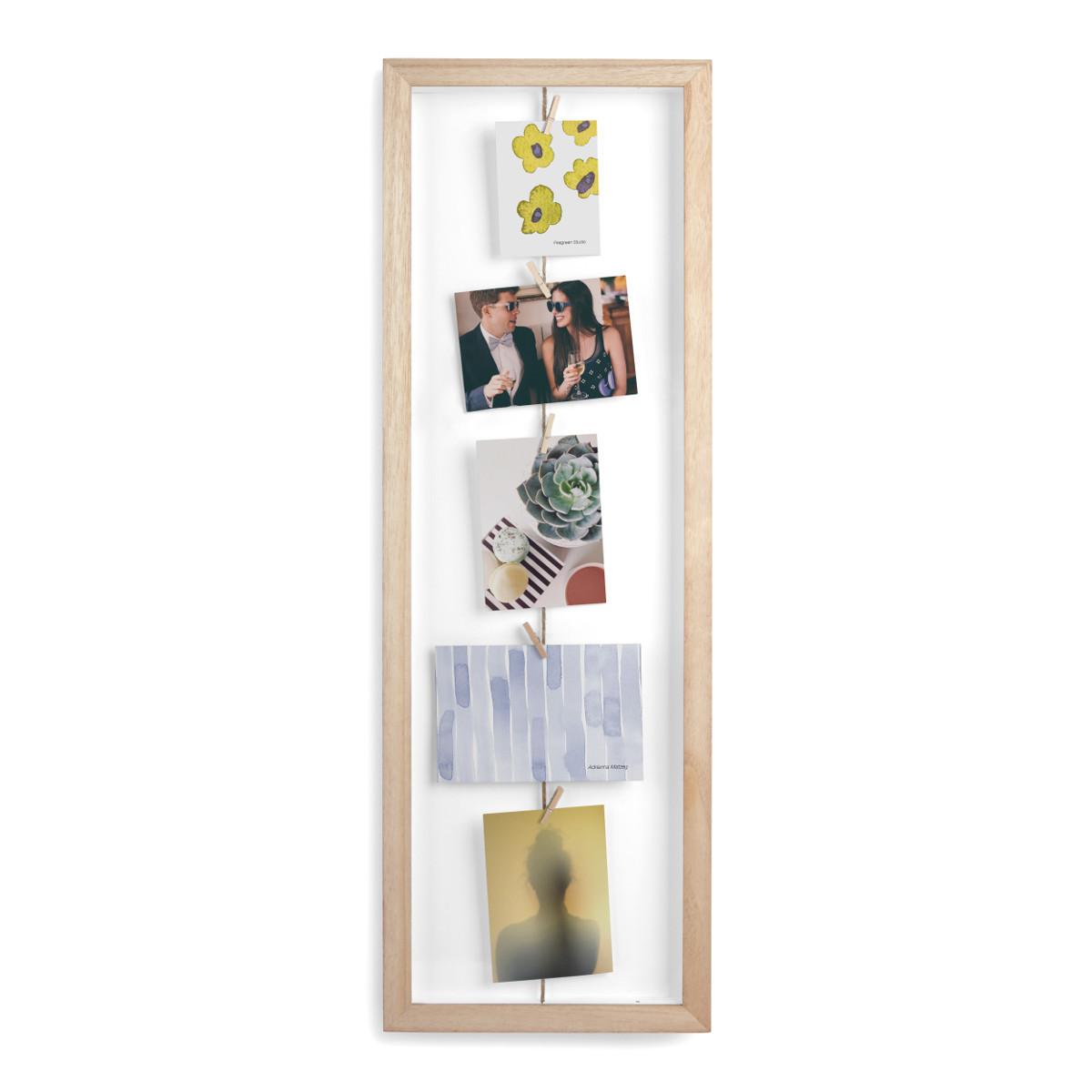 Wäscheleinen-Rahmen für Fotos & Co.