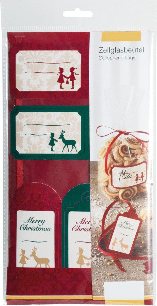 Weihnachtliche Gebäckbeutel