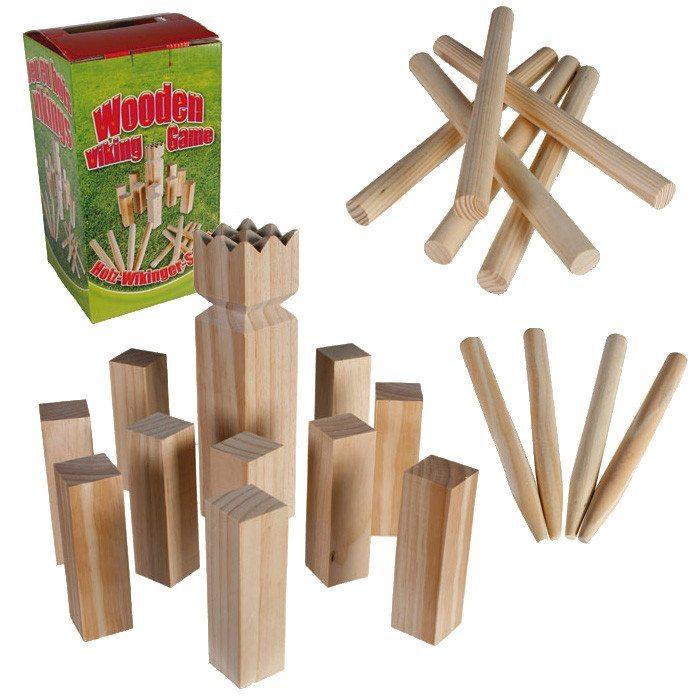 Wikingerspiel aus Holz