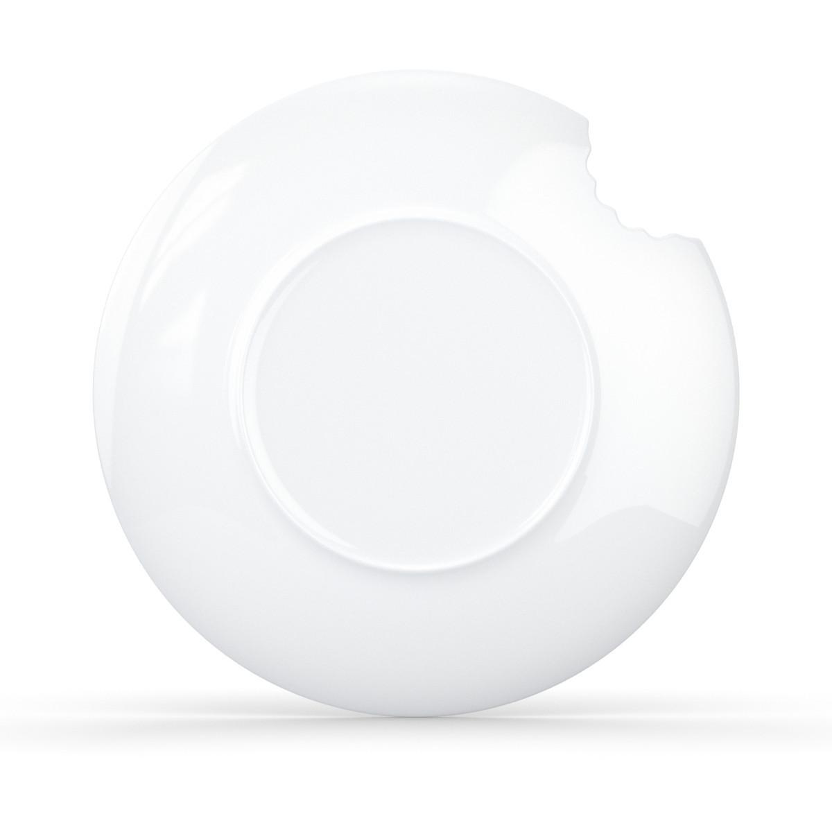 Zum Anbeißen: Teller mit Biss (2er-Set) - groß