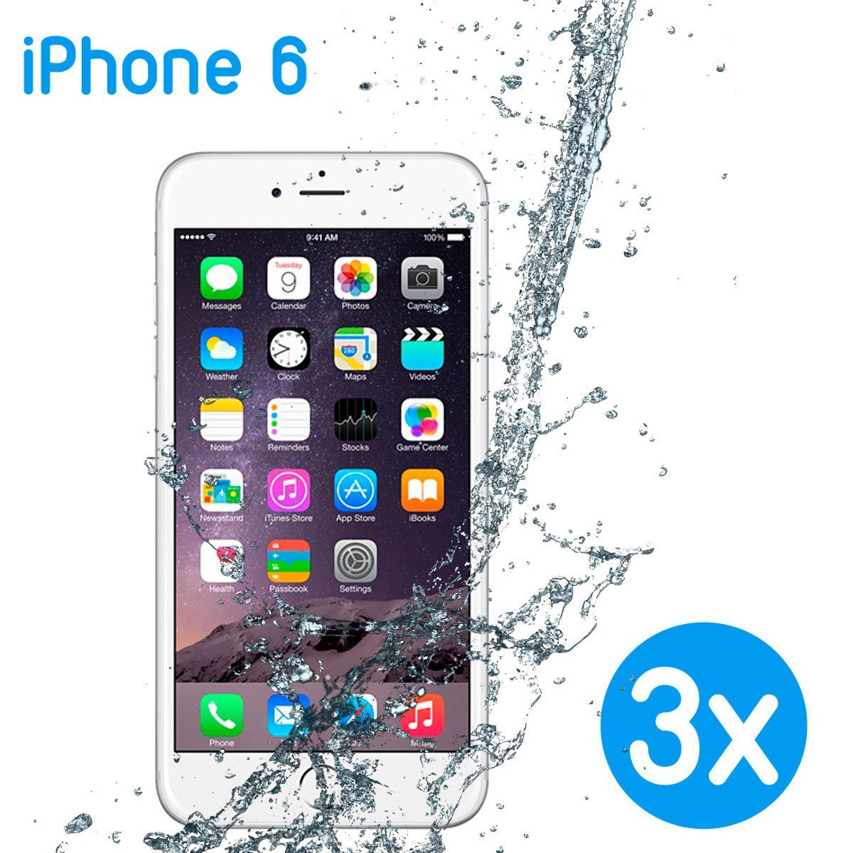 3 fundas protectoras para iPhone 6