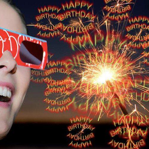 """3D-Set """"Happy Birthday"""""""