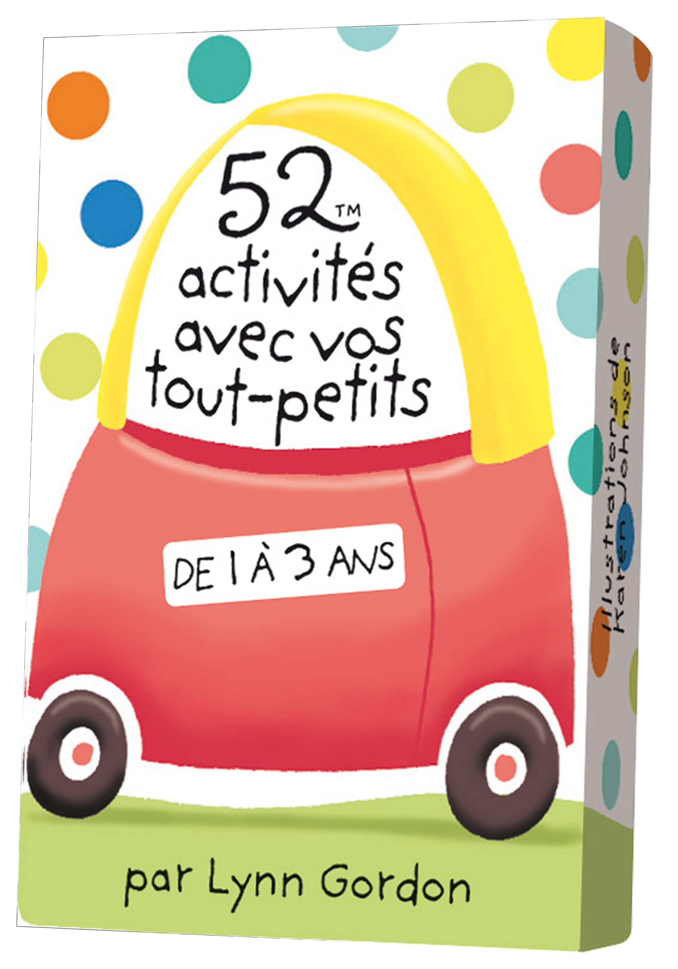 52 activités avec vos tout-petits