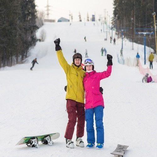 Aventura en la Nieve para dos: Clase de Snow - Madrid
