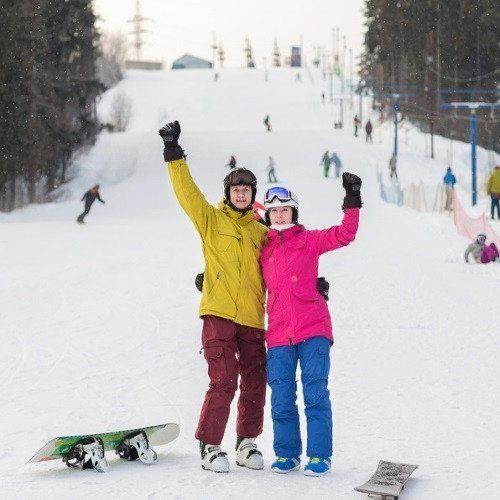 Aventura Snow en pareja: clases privadas y equipo - Granada