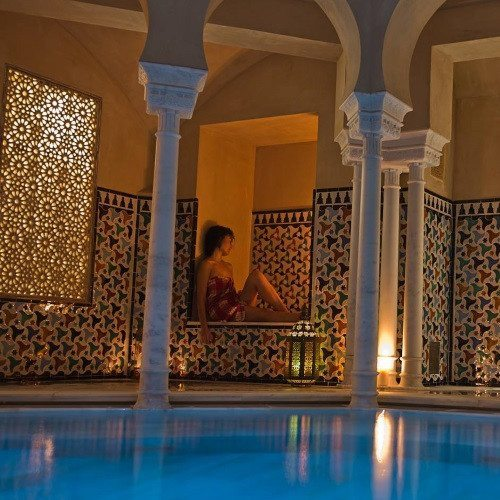 Baño Árabe y Masaje relajante - Málaga