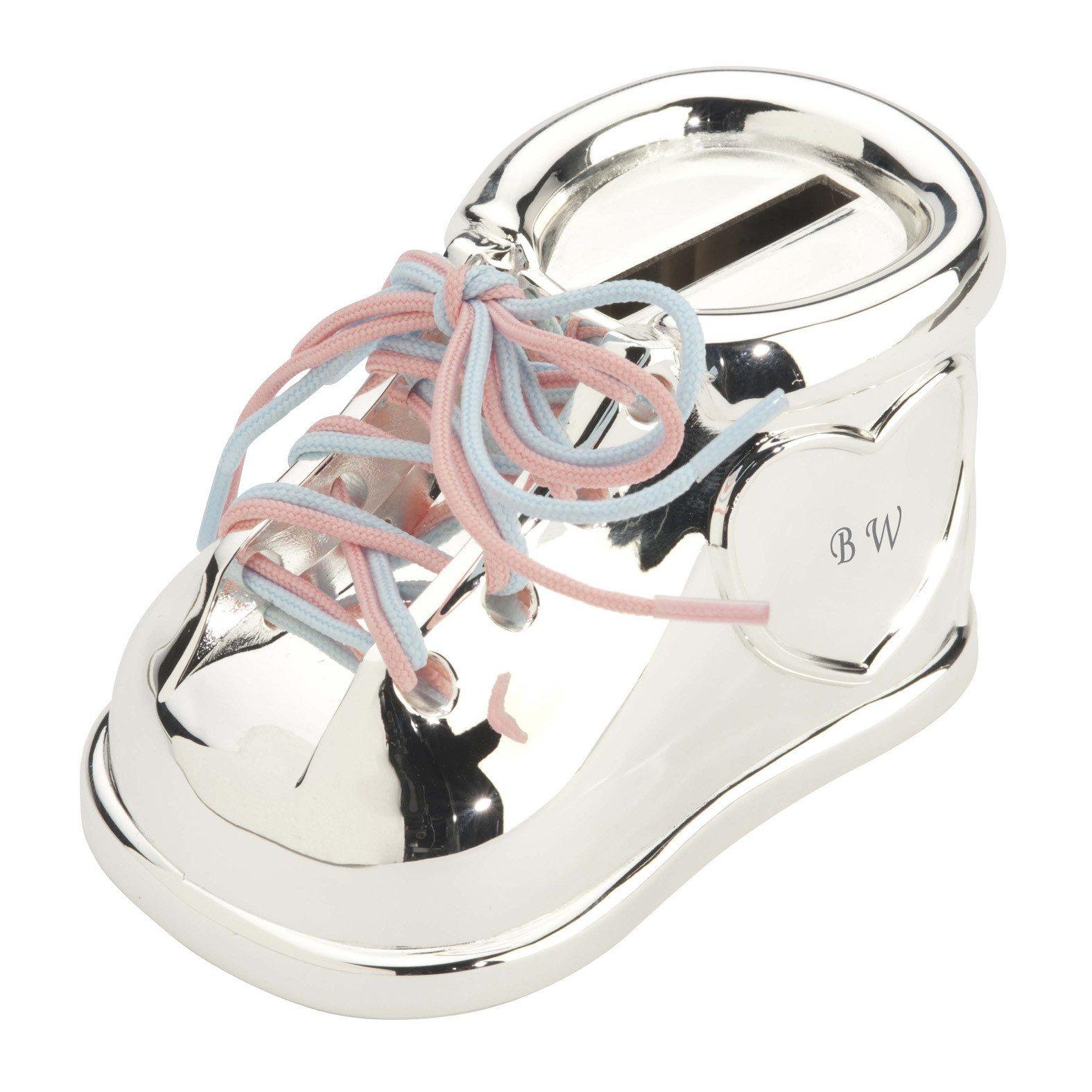 Mi primera zapatilla – hucha personalizada para tu bebé