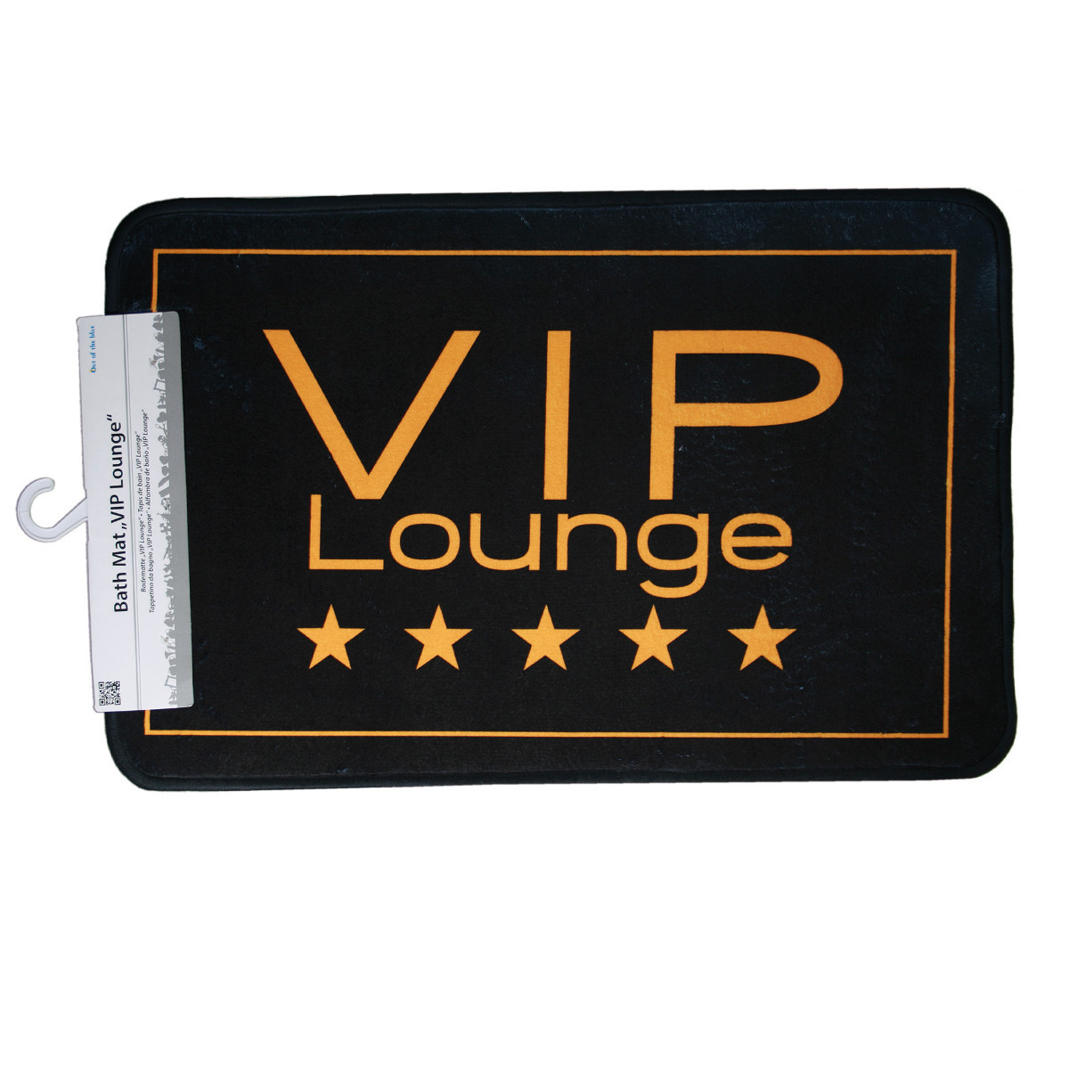 """Alfombra de baño """"Vip Lounge"""" – un lujo para tu baño"""