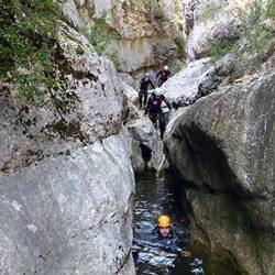 Barranquismo en Hoz Somera - Cuenca