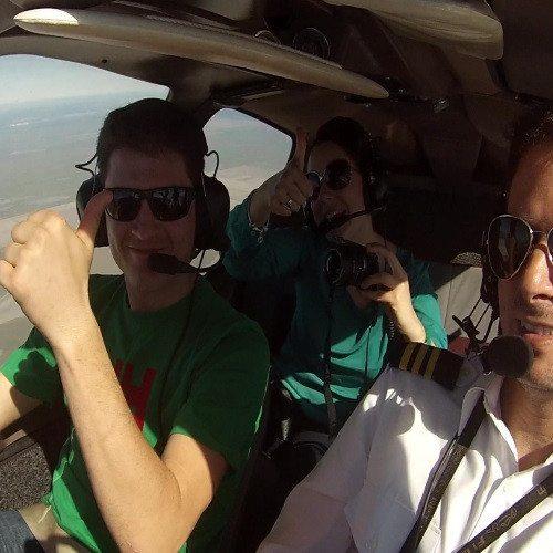 Bautismo de vuelo en pareja - Sevilla