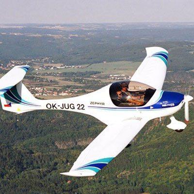 Bautismo de vuelo en ultraligero - Asturias