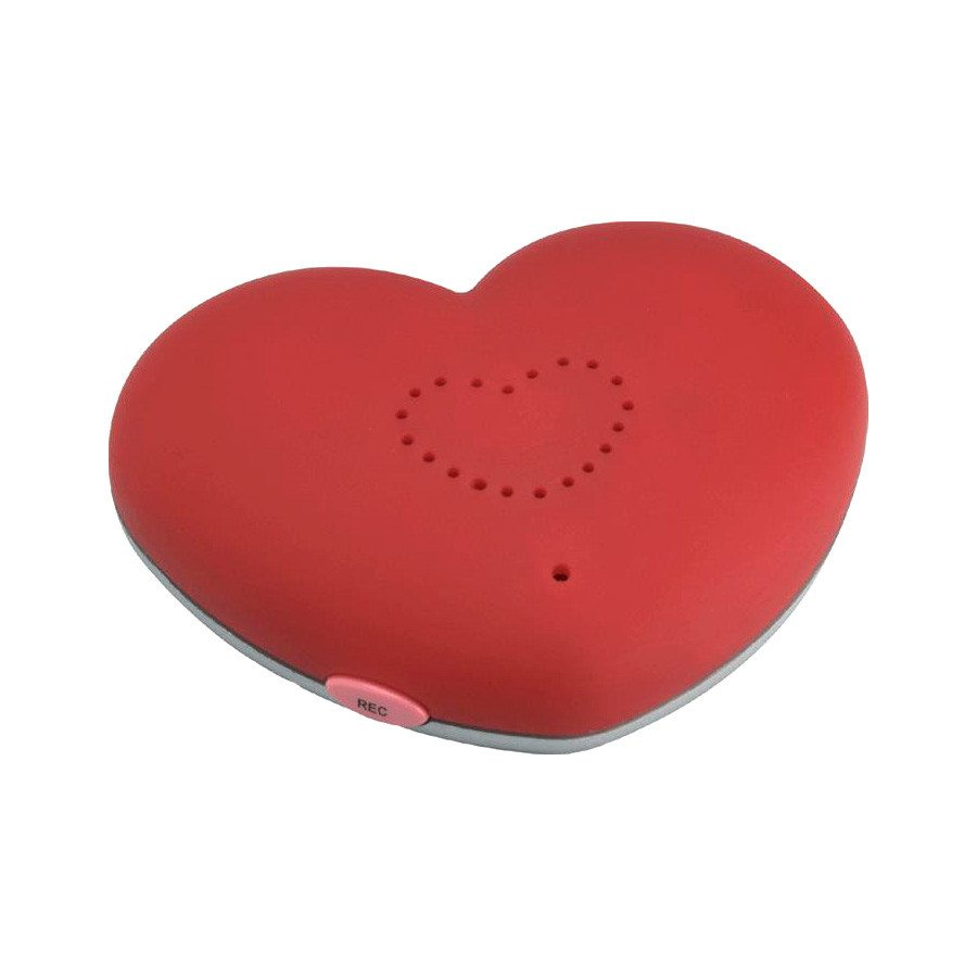 Grabadora imantada corazón - Deja tu mensaje más romántico